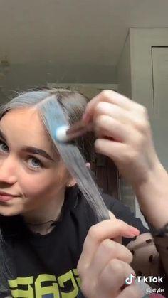 Hair Tips Video, Hair Videos, Hair Inspo, Hair Inspiration, Beauty Hacks, Beauty Tutorials, Makeup Makeover, Bleached Hair, Aesthetic Hair