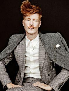 Checked suit  #suit #dandy