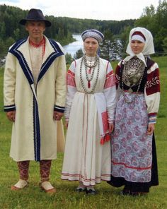 Costume and Embroidery of the Seto, Estonia.