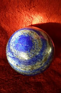 "Lapis Lazuli Sphere 3"" in diameter From Afghanistan Hand made  $210.00 Free shipping  <a href=""//www.etsy.com/shop/GreenDragonflyStones?ref=offsite_badges&utm_source=sellers&utm_medium=badges""><img src=""//img0.etsystatic.com/site-assets/badges/en/holiday/Facebook_Revised.jpg""></a>  Chakras: • Throat (5th) • Third eye (6th)  Lapis is an excellent stone for executives, journalists, and psychologists, stimulating wisdom and good judgment in the practical world. It aids intellectual analysis in…"