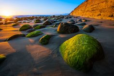Sunset at Emma Wood State Beach, California
