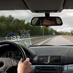 Buy OBD Head Up Display Automobile Windshield Projector On-Board Computer For Car Head-up Display Digital Car Speedometer Bugatti, Lamborghini, Ferrari, Subaru, Car Head, Head Up Display, Display Screen, Heads Up, Car Makes