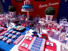 Capitan America Birthday Party Ideas   Photo 2 of 7