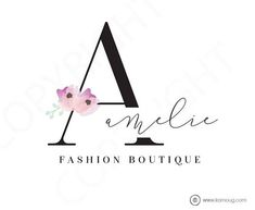 Fashion Boutique Logo Photography Lifestyle Logo Premade Logo Watermark Logo Business Logo Branding Logo Custom Logo Logos and Watermarks – karnoug graphic design – Join in the world of pin Boutique Logo, Logo Branding, Branding Design, Business Card Logo, Business Card Design, Business Branding, Logo Fotografie, Mode Logos, Logo Fleur