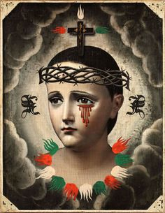 darksilenceinsuburbia:  James F. Reed. Our Lady of Santiago, 2011.