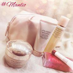 In un morbido beauty color panna, crema antirughe Shiseido WrinkleResist24 e 3 minitaglie in regalo: sapone, lozione idratante e il prodotto più innovativo di Shiseido, l'immuno-attivatore ULTIMUNE.  #shiseido #ultimune #beauty #cosmetics #skincare #cream #soap #creme #pelle #bellezza