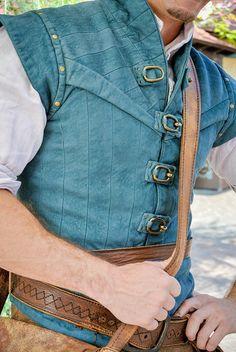 Flynn Rider, love his jacket-vest