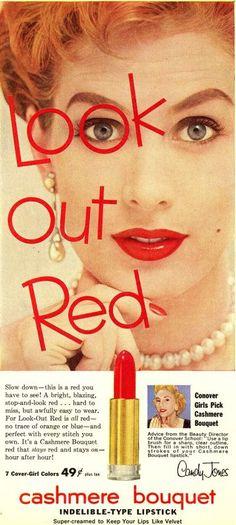 Red lipstick - #1950s