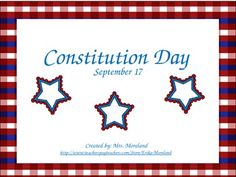 new **freebie** constitution day powerpoint!