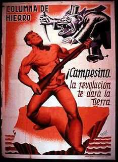 The Visual Front - Posters of the Spanish Civil War Communist Propaganda, Propaganda Art, Red Scare, Military Coup, All In The Family, Party Poster, Revolutionaries, Civilization, Frases