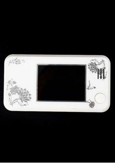 weiß 2.7 Zoll Digital Türkamera Überwachungkamera Klingel Doorbell Türspione aus DE