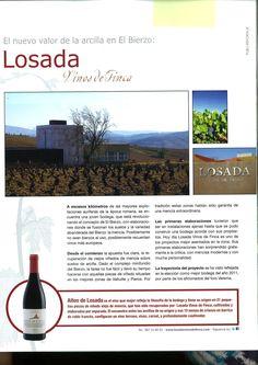 Sobremesa wine magazine write about Losada Vinos de Finca #bierzo #winery #mencia