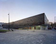 Antony-Multisports Complex by Archi5 + Tecnova architecture