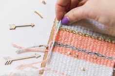 DIY Woven Wall Hanging (The EASY Way!) - The Nectar Collective