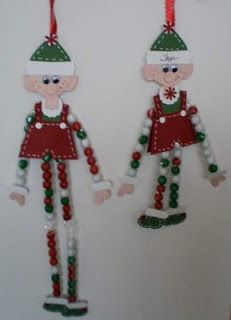 Barbara's World of Whimcees: WOYW Wednesday - Candy Legs Elves Christmas Art For Kids, Christmas Arts And Crafts, Christmas Food Gifts, Felt Christmas Ornaments, Christmas Love, A Christmas Story, Holiday Crafts, Christmas Holidays, Christmas Decorations