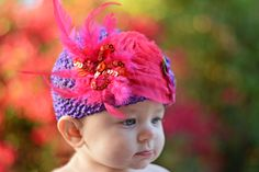 The name says it all!  This hat is sure to turn heads and make your little girl the life of the party!