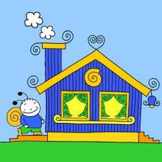 Bogyó és Babóca, Bogyó háza Lisa Simpson, Baby Room, Kids Room, Cartoon Ideas, Snoopy, Character, Room Kids, Child Room, Kid Rooms
