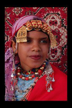 Africa   'Girl from Ghadames'. Libya   © Ibrahim AL Agouri