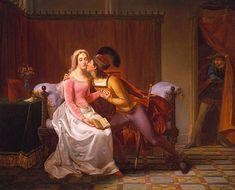 Il mito di Paolo e Francesca. Miti in pittura. Storie famose
