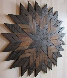 Reclaimed Wood Wall Art- Farmhouse Decor- Barn Quilt- Wood Wall Decor- Rustic Wall Decor- Rustic Home Decor- Geometric Wood Wall Art- Decor Check out this beautiful Barn Quilt, perfect addition to go along with the rest of your farmho Barn Wood Decor, Wood Wall Art Decor, Reclaimed Wood Wall Art, Wooden Wall Art, Rustic Wall Decor, Diy Wall Decor, Wood Art, Farmhouse Decor, Wall Wood