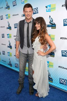 """Lea Michele tweeted, """"So excited to have just won a DO SOMETHING AWARD!!!! Thank you to everyone at VH1 and @dosomething!! #dosomethingawards2012...Thank you to all of my amazing, incredible, loyal and FABULOUS fans who voted for me!!! Love you guys!!"""" Cory Monteith tweeted, """"I won a do something award!! thank you so much for voting!!!!!!! :) :)...check out http://dosomething.org for ways to get inspired and help out!"""""""
