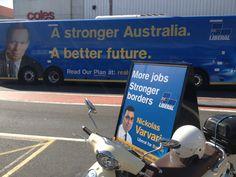 Nickolas Varvaris - Liberal for Barton - More Jobs - Stronger Borders.  www.realsolutions.org.au