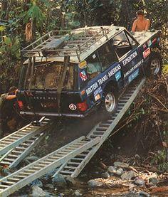 Range Rover Darien Gap - Range Rover Classic