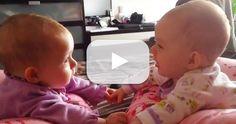 Twin Babies Talking