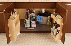 Kitchen organization solutions.