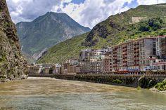Danba in Sichuan Province