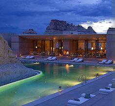 Beautiful Amangiri Resort in Grand Canyon