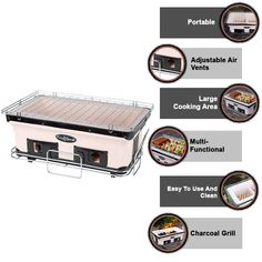 Due to its multiple reasons, buyers are happy to purchase fire sense large yakitori grill. It has an incredible ventilation system, and its ceramic provides constant heat. #bbq_sauce #bbq_sauce_homemade_easy #bbq_sauce_homemade_for_ribs #bbq_sauce_homemade_for_pulled_pork #bbq_sauce_homemade_chicken #bbq_sauce_homemade_easy_quick #bbq_sauce_homemade_easy_ketchup #bbq_sauce_homemade_for_ribs_easy #bbq_recips #bbq_recips_grill #bbq_recipes_sides #bbq_recipes_grill_meat Japanese Bbq Grill, Bbq Recipes Sides, Best Bbq, Ventilation System, Bar Grill, Charcoal Grill, Bbq Chicken, Pink Flamingos, Skewers