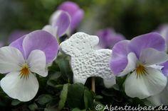 Osterlamm – Einstecker selber machen