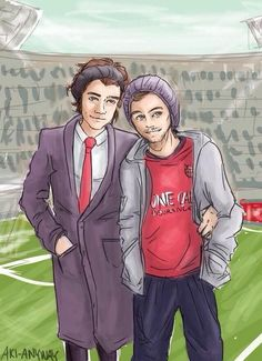 """""""Do you ever cry because Larry fanart?"""" Yes all the time."""