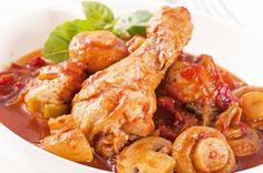 Pollo a la Cazadora muy Fácil Te enseñamos a cocinar recetas fáciles cómo la receta de Pollo a la Cazadora muy Fácil y muchas otras recetas de cocina..