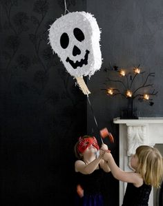 halloween pinata, like the trap door.