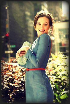 Blair Waldorf - Abigail Lorick dress.