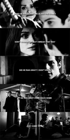 """Where's My Love"" by SYML it's such a stydia song! It's actually used for a stydia scene ; Teen Wolf Quotes, Teen Wolf Memes, Malia Tate, Scott Mccall, Lydia Martin, Derek Hale, Teen Wolf Stydia, Teen Wolf Ships, Stiles And Lydia"