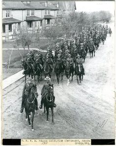 """The officers were called the """"North-West Mounted Police"""" until Feb. 1, 1920, when legislation merged the Mounties with other police forces across eastern Canada. They became known as the """"Royal Canadian Mounted Police."""""""