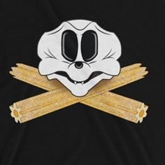 "Everyone is posting pictures of Halloween Time at Disney!! This warms my soul. :) You can get this Mickey inspired Skull and Churro ""crossbones"" design for your own park visit in my shop (link in bio). It comes in a variety of wonderful colors but also black and oranges for #halloween  #tshirt #churros #halloweentime #disneyland #mickeymouse #nevernotclever #snacks #dlr #wdw #dca #disneylandresort #pirates #villains #twitter"