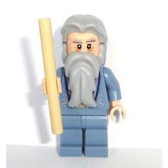 Lego Harry Potter 2010 Mini Figure - Dumbledore with Wand...