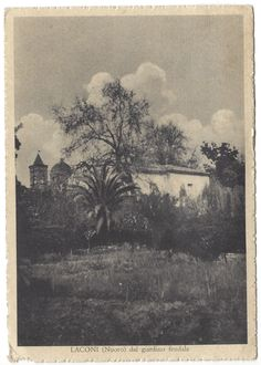 LACONI (Nuoro) dal Giardino Feudale (09.1952)