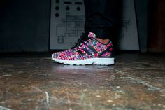 Take it to the next level with this week's #kickoftheweek: the Multicolour Prism #zxflux. Rooted in the #adidasOriginals formula and splashed with a photo print of waves crashing on the mesh upper, these kicks champion the power of the ZX DNA, pushing forward and turning heads. Available worldwide March 29.