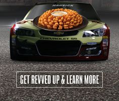Any time Kevin Harvick®, driver of the No. 4 Chevrolet SS, finishes in the Top 10 in a NASCAR Sprint Cup race, you'll get a FREE Bloomin' Onion® the Monday immediately following the race. Get revved up and learn more at Outback.com/Racing.
