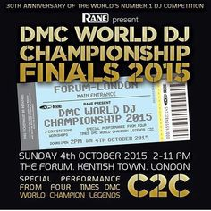 Celebrating 30 Years with the World's Number 1 DJ Competition. It goes down later today! Good luck to all the competitors and DMC World HQ! #dmcworld #dmcdjbattles #dmccanada #turntablism #olympics by dmc_canada http://ift.tt/1HNGVsC