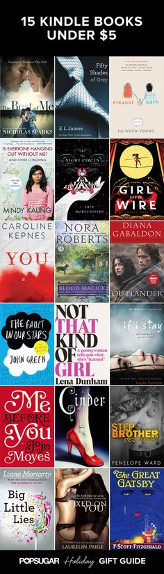 SO many hot new books and bestsellers are super cheap on Amazon's Kindle right now!