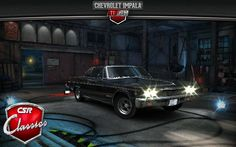 CSR Classic Racing: My Impala.