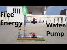Comment fabriquer une pompe à eau à énergie gratuite - YouTube