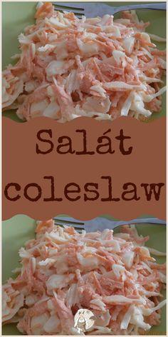 Salát coleslaw Coleslaw, Potato Salad, Dips, Food And Drink, Potatoes, Ethnic Recipes, Fitness, Kitchen, Sauces