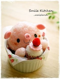 cute pig bento anything piggie related from pig products to animal photos i Cute pig bento Anything piggie related from pig products to animal photos I foodart Bento Kawaii, Cute Bento, Cute Food, Good Food, Yummy Food, Food Art Bento, Comida Diy, Japanese Food Art, Little Lunch